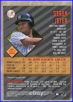 1997 DEREK JETER Bowman's Best #BBP4 RARE Preview ATOMIC REFRACTOR RC