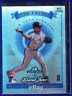 1997 Donruss Star Factor Derek Jeter Limited Exposure #83 Rare Parallel /40
