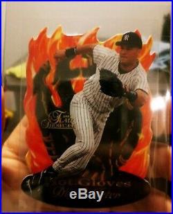 1997 Flair HOT GLOVES Derek Jeter Die Cut Yankees HOF SUPER RARE