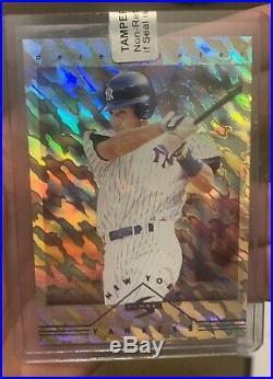 1997 Score New York Yankees Derek Jeter #3 PREMIER CLUB Very Rare! Rookie RC