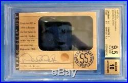 1997 UD3 Superb Signatures #4 DEREK JETER Auto BGS 9.5/10 Very Rare Pop 2 11500