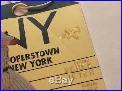 1998 Fleer EX 2001 Derek Jeter Destination Cooperstown SSP RARE! Yankees HOF