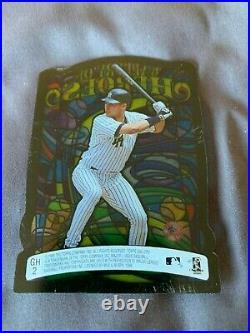 1998 TOPPS GALLERY OF HEROES DEREK JETER DIE-CUT INSERT New York Yankees RARE