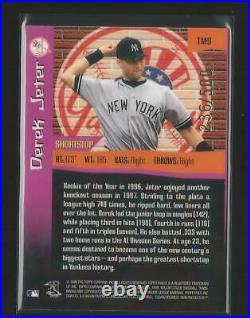 1998 Topps Finest The Man Derek Jeter Yankees #9 Rare Parallel Sp 236/500 Hot JC