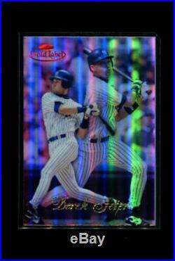 1998 Topps Gold Label Red #7 Derek Jeter #18/25 Mint Rare 227078