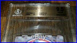 1998 Topps Sportzcubz Complete Set Test Jeter BGS 9.5 Griffey McGwire Bonds RARE
