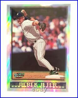 1998 Topps Super Chrome Derek Jeter Refractor #13 NY Yankees Rare High Grade Raw