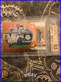 1998 Upper Deck Retro Derek Jeter Quantum Leap #d 3/50 Rare! SP Yankees Insert