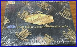 1999 Flair Showcase Baseball Hobby Box RARE Measure of Greatness CHANCE
