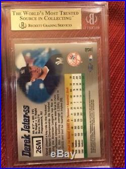 1999 Fleer Mystique MASTERPIECE RARE 1 OF 1 Derek Jeter Yankees BGS 9.5 GEM MINT