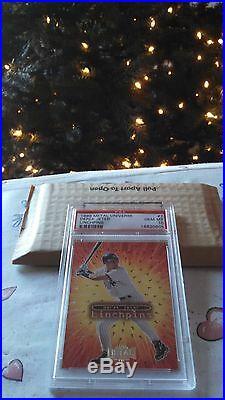1999 Metal Universe Derek Jeter Linchpins NY Yankees PSA 10 Rare SP pop 5