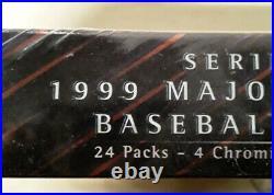 1999 Topps Chrome Series 1 MLB Sealed Hobby Box Derek Jeter Alex Rodriguez RARE