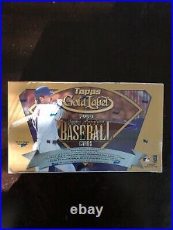 1999 Topps Gold Label Baseball 24 Pack Super Premium Factory Sealed Box Rare
