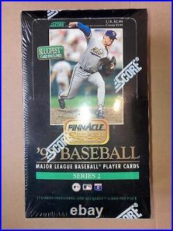 (1) 1993 PINNACLE Series 2 Baseball Factory Sealed Super Box! Rare Jeter RC YR