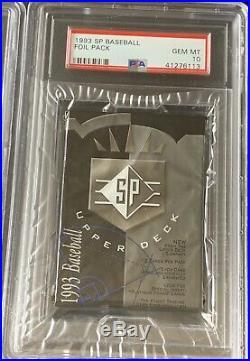 1 1993 SP Foil Possible Derek Jeter #279 RC PSA 10 GEM MINT Sealed Pack Rare