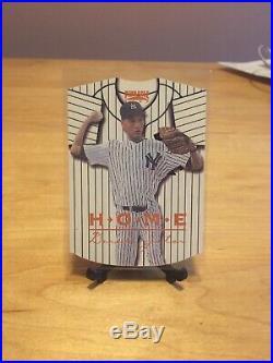 1/1 Rare 1997 Pinnacle Home/Away #17 Derek Jeter HOME Score Rookie 1993