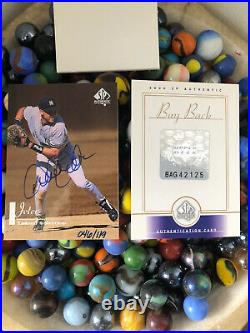 2000 Derek Jeter UD SP Authentic On Card Auto Buy Back 46/119 Rare