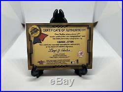 2001 Fleer Autographics Derek Jeter Auto /250 HOF Autograph Rare Certified