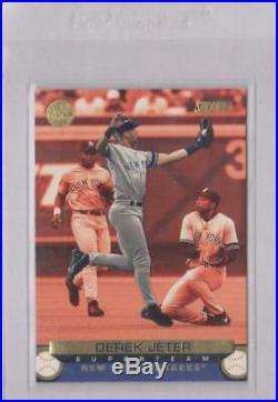 2001 Stadium Club Superteam Derek Jeter #stp30 Yankees Exchanged Super Rare /25
