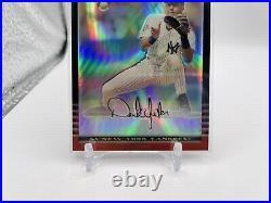 2002 Topps Bowman Chrome REFRACTOR #2 Derek Jeter MLB New York Yankees /500 Rare