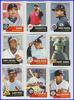 2002 Topps Heritage Complete set with SP 1-450 BV$400 RARE FREE Shipping