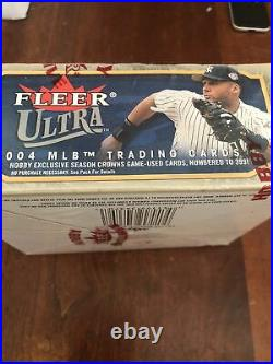 2004 Fleer Ultra Hobby Baseball Box rare nice box 24 packs