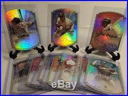 2004 SkyBox LE Rare Form Insert Complete 10 Card Set Derek Jeter Alex Rodriguez
