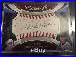 2006 Derek Jeter Sweet Spot Signatures Auto Baseball 21/99 Yankees Rare