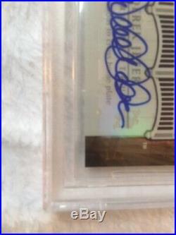 2008 Derek Jeter Retrospectrum Auto/2 Ssp Rare Yankees Bgs Gem Mt 9.5/10 2020hof