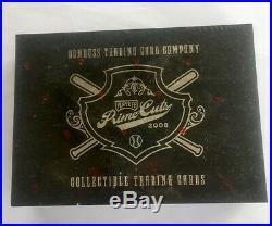 2008 Playoff Prime Cuts Series 4 IV Baseball Hobby Box MLB Super Rare