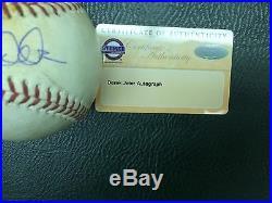2013 Derek Jeter Signed Game Used Baseball-mlb/steiner Auth-a Rare Jeter Gu Ball