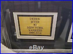 2014 National Treasures Yankees Derek Jeter Booklet /99 Framed 1 of a Kind Rare