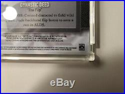 2017 Topps Dynasty Derek Jeter Auto Patch #d 4/5 Extremely Rare
