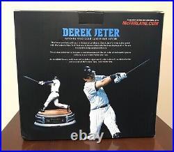 2020 HOF Derek Jeter RARE 2012 McFarlane Signed 12 Resin Statue Sculpture #/250