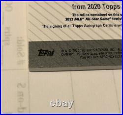 2020 TOPPS UPDATE DEREK JETER MARIANO RIVERA DUAL AUTO ALL STAR PATCH 5/5 Rare