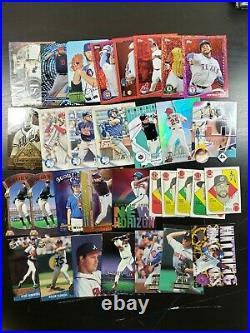 2,400 Baseball ALL INSERTS Huge Lot Cards Ken Griffey Derek Jeter 90s Set Rare 2
