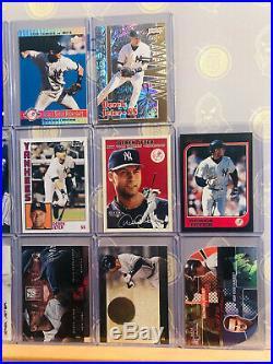 (40x) Derek Jeter Rare NM MINT Baseball Card Lot New York Yankees No Duplicates