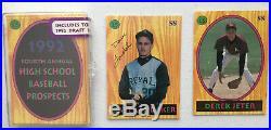 92 Little Sun H. S. Baseball Set, Jeter 1st Card, only 3000. Landaker Auto. RARE