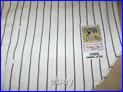 AUTHENTIC MITCHELL and NESS RARE YANKEES 1996 Derek JETER World Series Jersey-52