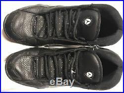 Air Jordan Nike RARE 2002 JUMPMAN DJ Derek Jeter Black SZ 9 Mens OG Nice Cond
