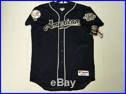 Authentic Derek Jeter 2002 All Star Jersey NY Yankees Milwaukee Game XL RARE