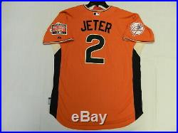 Authentic Derek Jeter 2007 All Star Jersey Yankees San Francisco Game RARE! Med