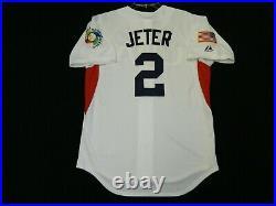Authentic Derek Jeter USA 2009 World Baseball Classic WBC Jersey Yankees RARE 52