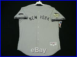 Authentic Majestic 52 2XL, NEW YORK YANKEES, DEREK JETER ON FIELD Jersey, RARE