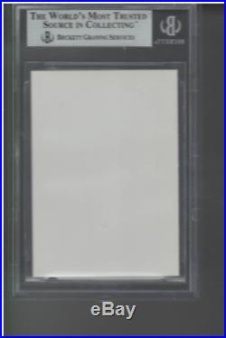 BGS 8.5 1993 Topps #98 Derek Jeter RC. RARE PRINT RUN PROOF CARD WithBLANK BACK