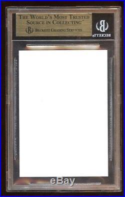 Bgs 9.5 Derek Jeter 1992 Classic Gold Rc Error Blank Back Missing Foil Rare