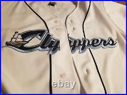 Columbus Clippers Derek Jeter Officially Licensed OT Teamwear Jersey Rare