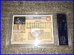 DEREK JETER 1992 FRONT ROW DRAFT PICKS GOLD ROOKIE 55 PSA 10 POP 14 Super rare