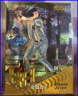 DEREK JETER 1996 Pinnacle Starburst Artist Proof #179 Rookie RC Gold Foil RARE