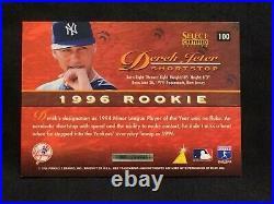 DEREK JETER 1996 Select Certified Artist's Proof Rookie #100 RARE HOF